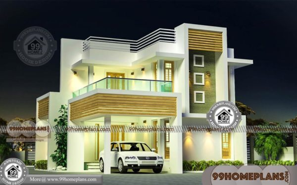 Simple Box Type House Design With Two Story Low Budget
