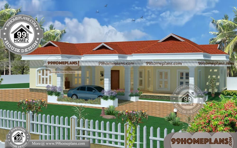 Simple House Plans In Kerala One Floor With Cute