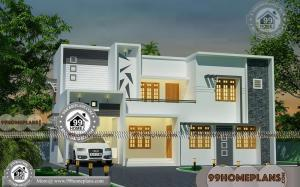 Simple Modern Home Plans with 2 Floor Latest Attractive Dream Houses