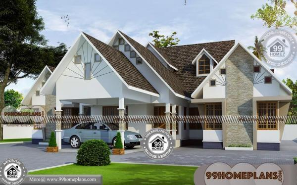 Single house elevation designs traditional cost for Cost effective homes