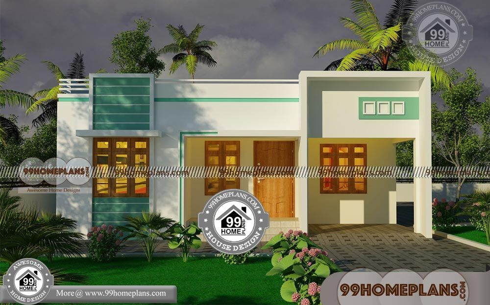 Nice 3 Bedroom Single Storey Budget House Part - 11: Budget Of This House Is 14 Lakhs U2013 Single Story Modern Home Design