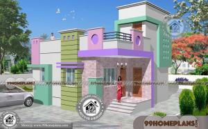 Small 1 Floor House Plans with 750 sq ft Simple Home Design Collections