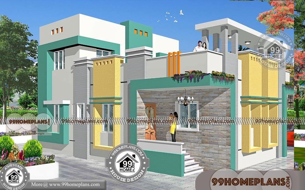 small box type house designs with double story modern home plans - Get Small Box House Designs  PNG