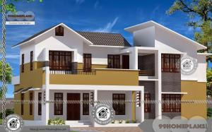 Small House Design Two Storey and Iron Railing Balcony Ideas & Plans