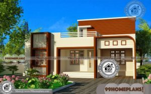 Small Modern Floor Plans with One Story Simple Classic Collection Design