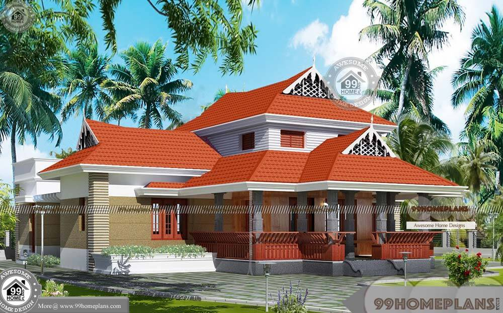 Small Traditional House Plans With Two Story Ethnic Style