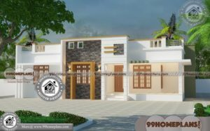 Three Bedroom Modern House Plans with 1 Floor Grand Collections Free