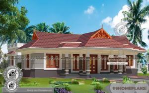 Traditional Farmhouse Design with Single Floor Awesome Exterior Plans