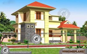 Traditional Home Exterior with Two Floor Beautiful Collections Floor Plans