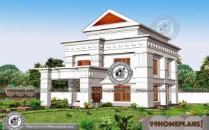 Traditional Home Style with Double Story Latest Concepts of Modern Plans