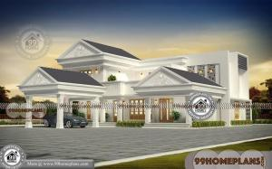 Traditional House Floor Plans with Two Story Bungalow Design Collections
