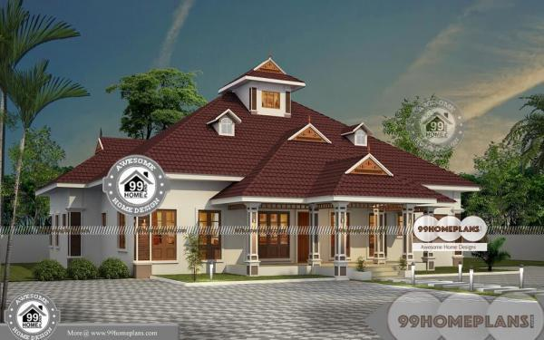 Traditional house plans one story low cost well suited for Traditional house plans one story