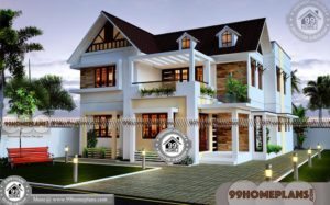 Traditional Houses In Kerala Styles | 1000+ Cute Low Budget Home Plans