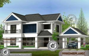 Traditional Indian House Design with 2 Floor Outstanding Home Collection