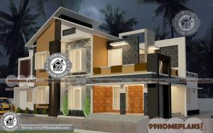 Traditional Nepali House Design with 2 Story Modern Plan Collections Free