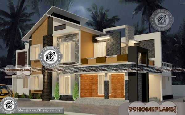 Traditional Nepali House Design With 2 Story Modern Plan