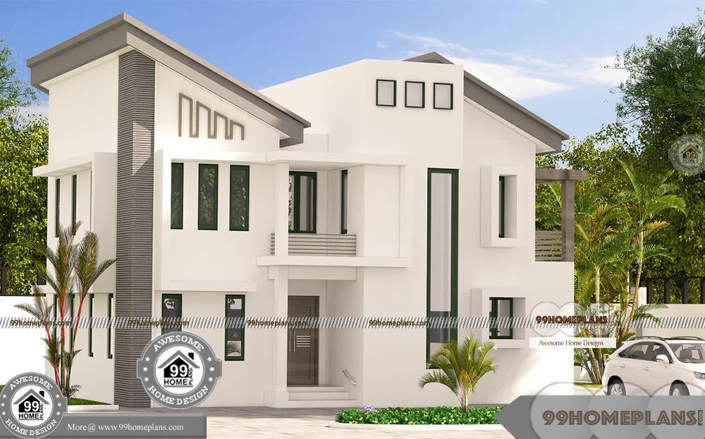Traditional South Indian Houses Design Double Floor Superb ...