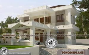 Traditional Stone House Designs with Double Story Modern Stylish Plans
