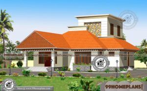 Traditional Style Home Plans with Double Floor Modern Simple Designs