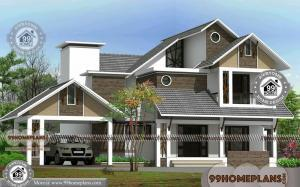 Traditional Style House Plans with 2 Story Best Architectural Design Ideas