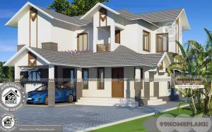 Two Storey Beach House Plans and Spacious Balcony Railing Designs