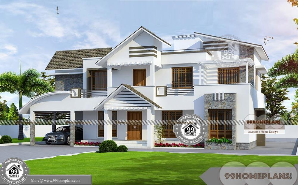 Two Storey Residential Building Complete Plan and Low ...