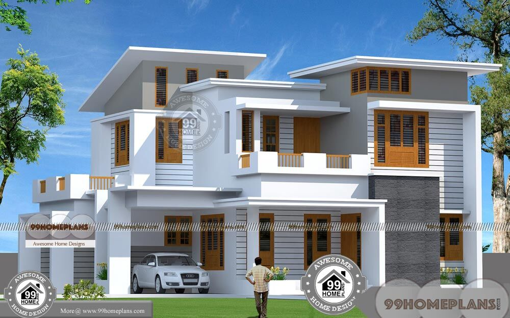 Two Storey Residential Building Plan And Low Estimate