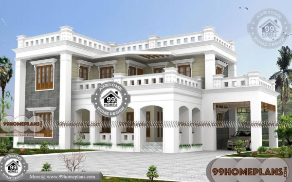 Two Story Bungalow House Plans with Double Story Exciting Home Plans