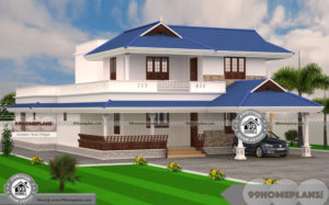 Vastu Shastra For Home Entrance with Boundary Wall of 2 Story Houses