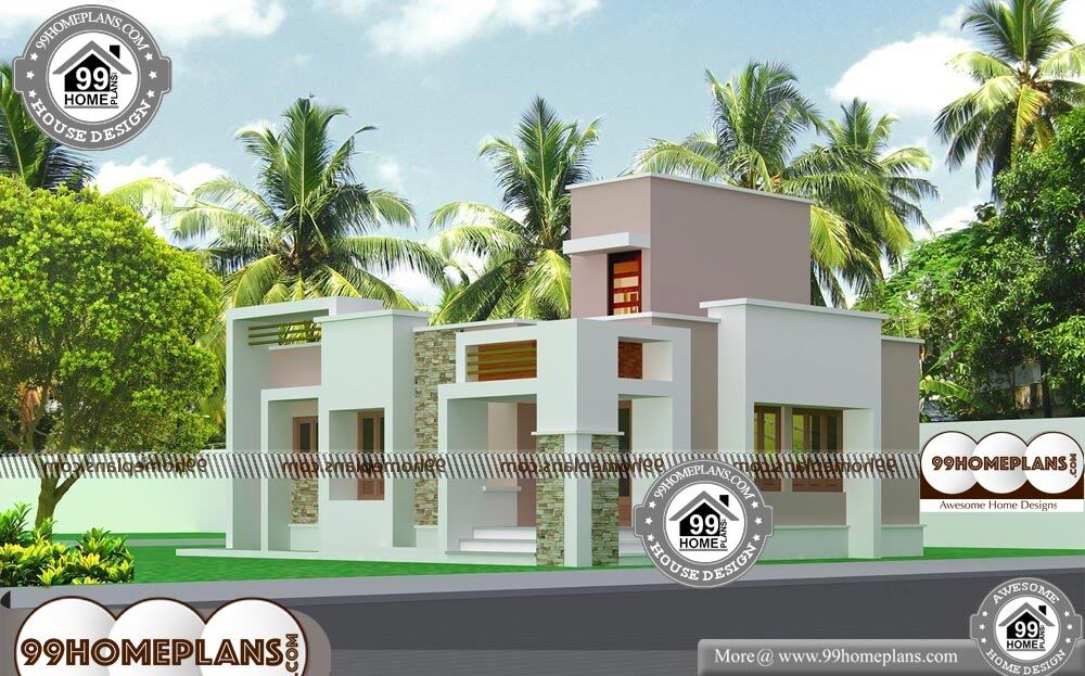 1 Storey House Design - Single Story 1005 sqft-Home