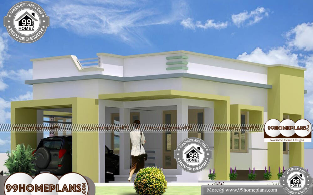 1 Story House Design - Single Story 946 sqft-Home