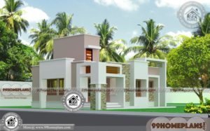 1 Storey House Design with Kerala Contemporary Style Home Collections