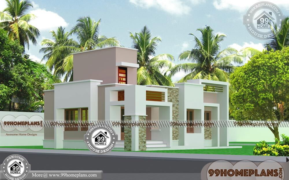 1 Storey House Design With Kerala Contemporary Style Home