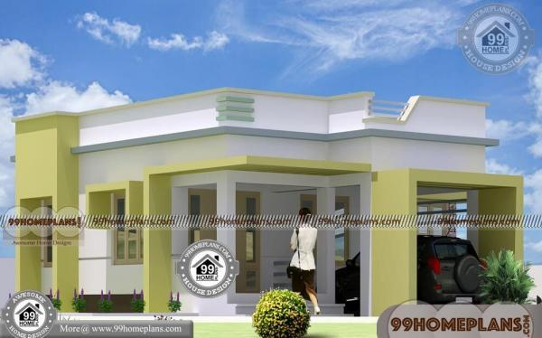 1 Story House Design with Simple & Classic Look Home Plan Collections
