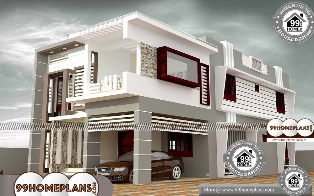 2 Storey House With Floor Plan - Single Story 2850 sqft-Home