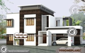 2 Storey Box Type House | Modern Contemporary Mind Blowing Designs