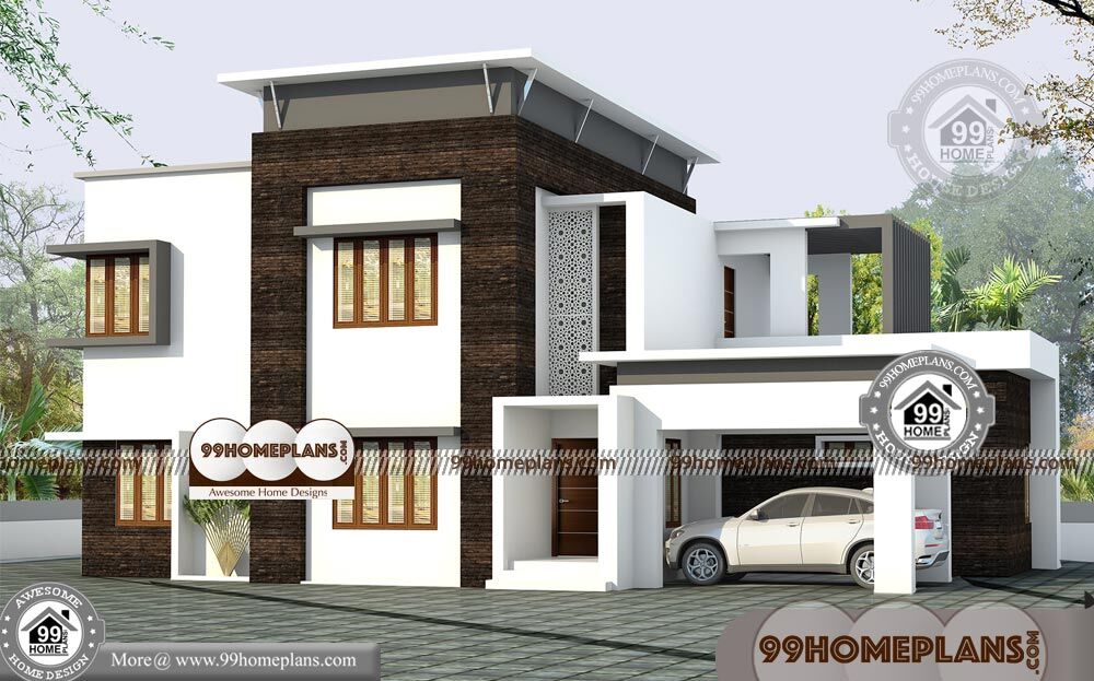 2 storey box type house modern contemporary mind blowing for Modern box type house design