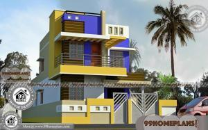 40 Wide House Plans with Two Story City Style Home Design Ideas Free