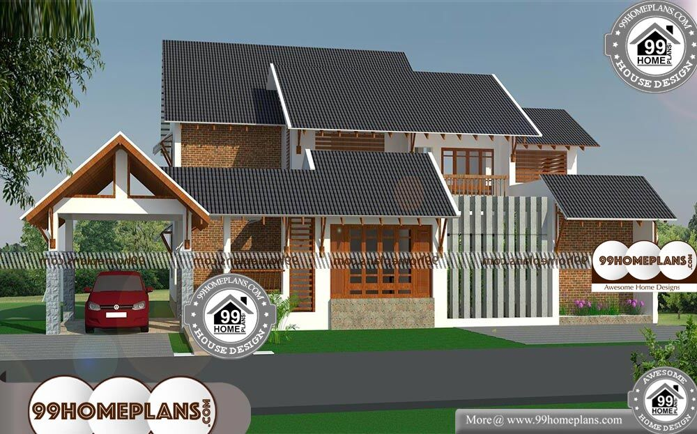 Brick home plans with double story modern stone type house for 2 story brick house plans