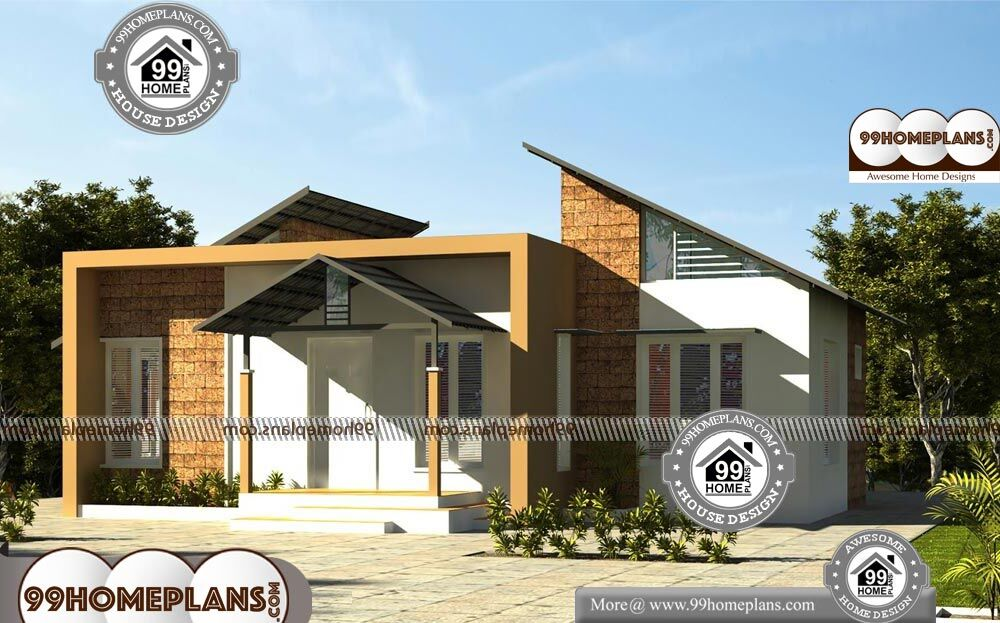 Country House Plans One Story - Single Story 953 sqft-Home