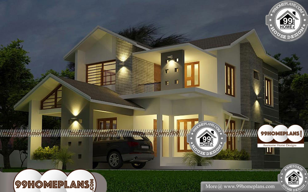 New Model Kerala House Plan Collections Contemporary Home