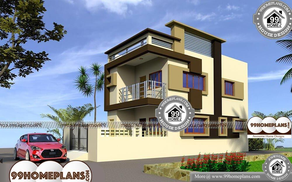 Simple Apartment Floor Plan - 2 Story 2000 sqft-Home