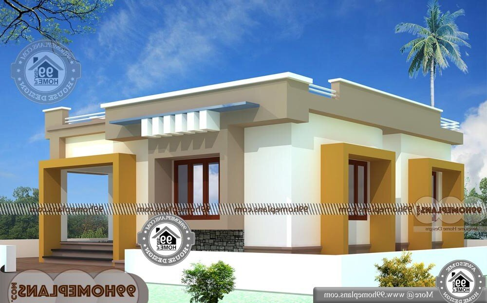 Small One Story House Plans - 2 Story 2012 sqft-Home