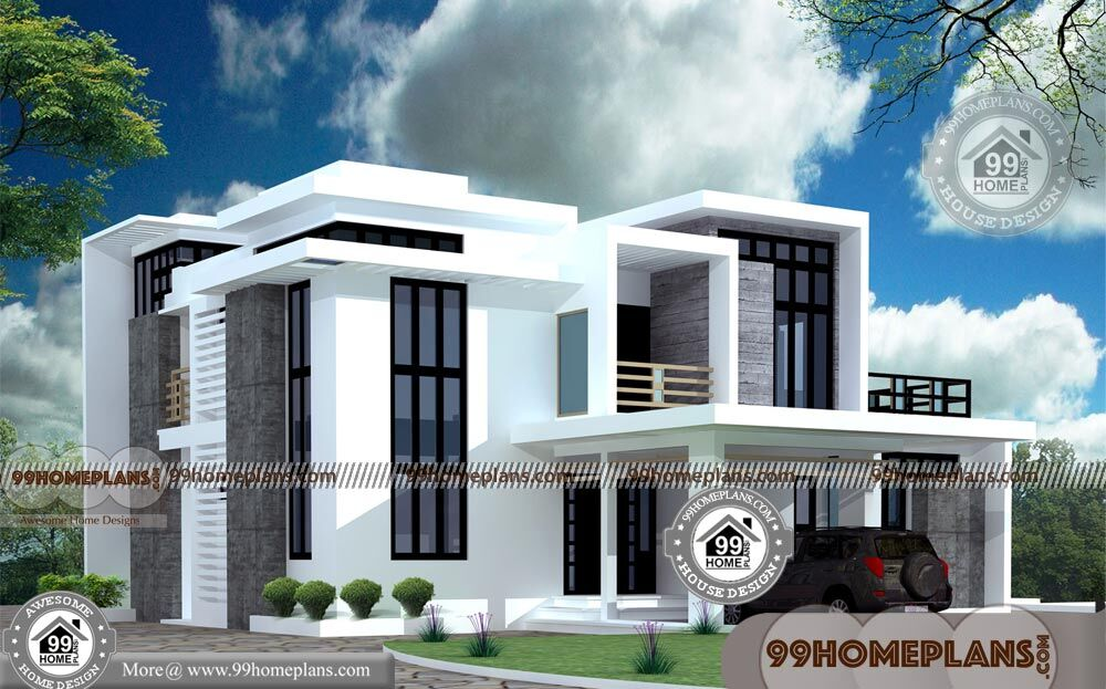 box shaped house designs double floored structural home collections - 38+ Small Box Type House Design With Floor Plan  Background