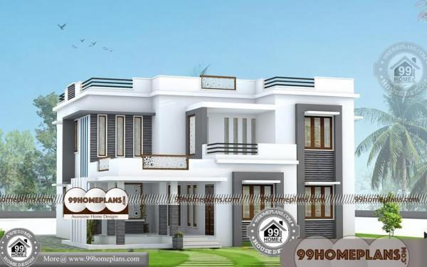 Box type house design modern box type bungalow philippines for Low budget modern house designs