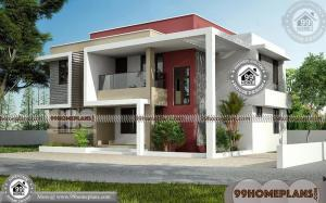 Box Type House Roofing & Modern 3d Exterior Elevations Plan Collections