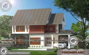 Budget Bungalow Designs with Double Story Modern House Collections