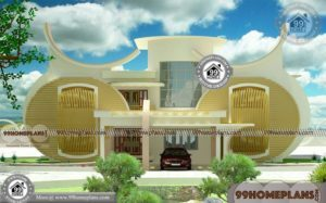 Contemporary Home Interiors with Double Story Ultra Modern Collections