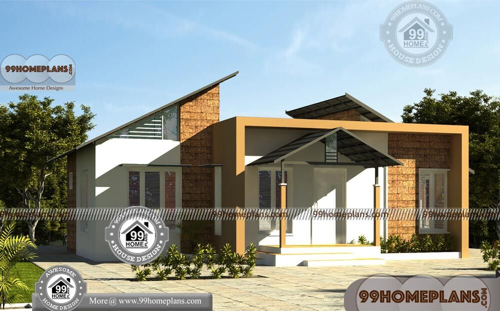Country House Plans One Story 90+ Contemporary Kerala Model Homes