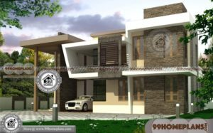 Double Story Home & 3D Elevation Plans Online | Very Cute & Stylish Idea